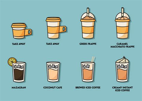 Download and use 10,000+ coffee illustration stock photos for free. Iced Coffee Illustration Set - Download Free Vectors, Clipart Graphics & Vector Art