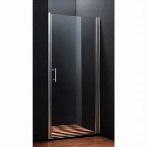 Porte de douche pivotante 70 90 cm for Porte de douche 90 cm