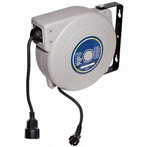 Enrouleur De Cable Electrique : enrouleur cable bois ~ Edinachiropracticcenter.com Idées de Décoration