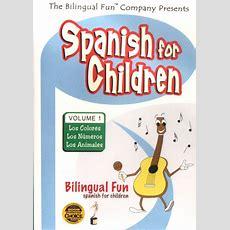 Bilingual Fun Kids  Learn  Spanish  Dvd  Bilingual Fun