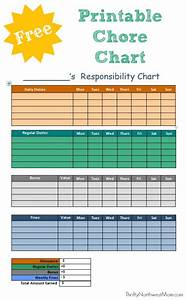 Daily Schedule Templates Free Printable Chore Chart For Kids Customize