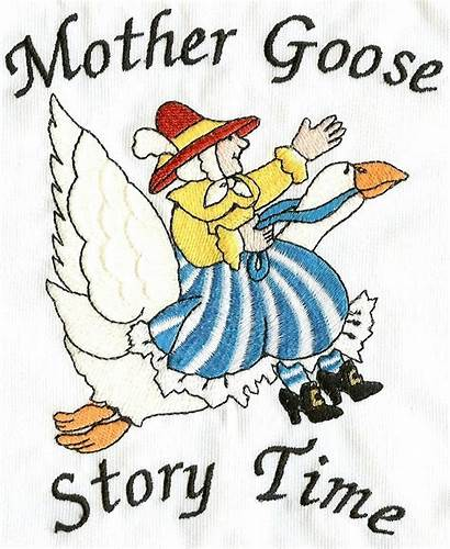 Goose Clipart Mother Nursery Rhymes Clip Children