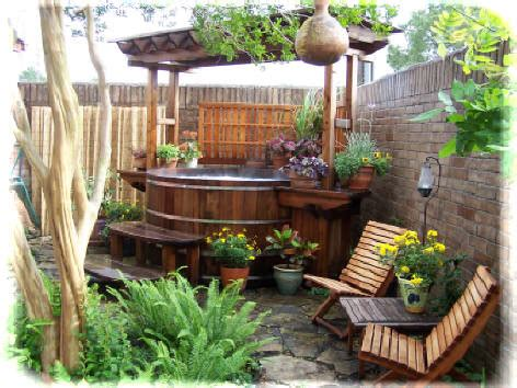 landscape backyard design ideas tub straightdopeness