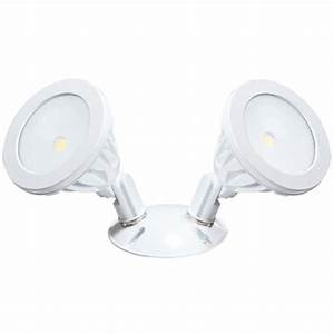 Defiant degree white led motion outdoor security light