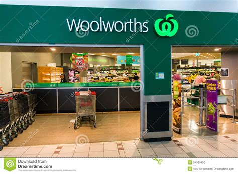 Collectables Store by Woolworths Supermarket In Box Hill Melbourne Editorial