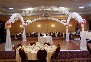 wedding balloon decorations ideas party favors ideas With wedding reception decoration ideas