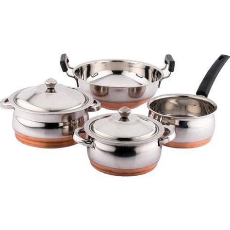 copper bottom cookware  rs kilogram ii le   vikram steel