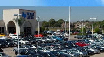 Car Dealerships In Arthur Tx by Auto Car Dealership In Houston Tx 77060