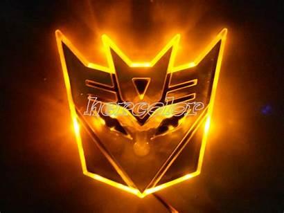 Transformers 3d Autobot Emblem Badge Led Decal