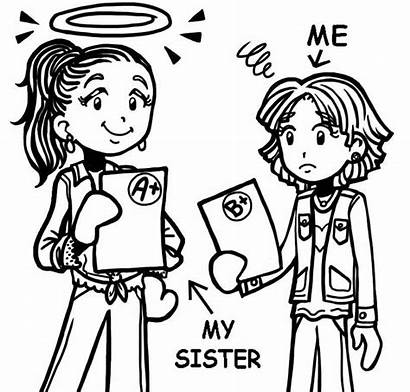 Sister Compare Quotes Drawings Siblings Being Mean