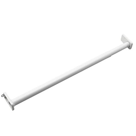 adjustable closet rod richelieu hardware 48 in adjustable closet rod 3048fewv