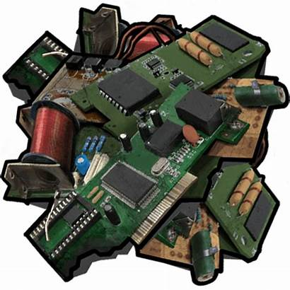 Rust Scrap Trash Tech Wiki Explosive Electronics