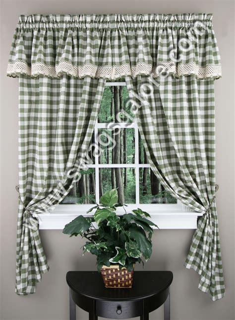 buffalo check 63 curtains navy achim casual curtains