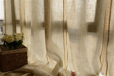country style cotton linen cotton crochet lace