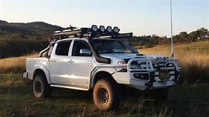 Fitted Rockarmor Premium Bullbar For Toyota Hilux Vigo
