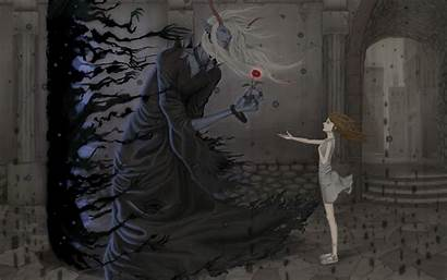 Demon Anime Dark Fantasy Devil Desktop Background
