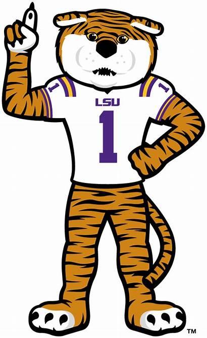 Lsu Mascot Tigers Tiger Logos Clip Clipart