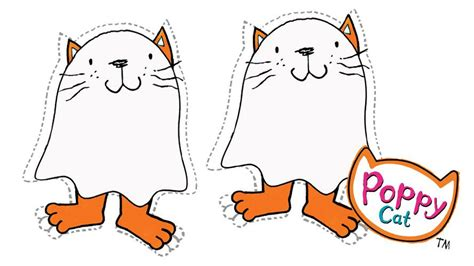 Poppy Cat Ghost Bunting