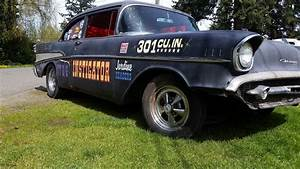 Garage Chevrolet : garage find 1957 chevrolet bel air 150 210 hot rod for sale ~ Gottalentnigeria.com Avis de Voitures