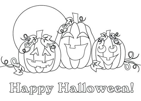 Jack o Lantern Coloring Pages for Kids Free Printable