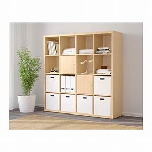 Ikea Kallax 4x4 : ikea kallax 16 4x4 shelf shelving unit bookcase storage in birch effect ebay ~ Frokenaadalensverden.com Haus und Dekorationen
