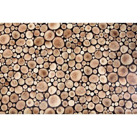 holzscheiben deko wand deko dekofolie quot holzscheiben quot 140 cm breit dekoration