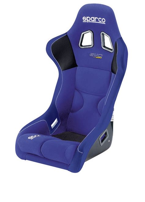 mustang sparco blue evo competition seat