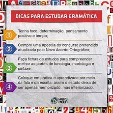 Como Estudar Gramática Para Concurso Público