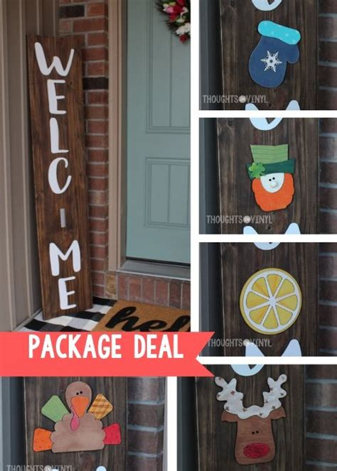 front porch sign  letters package deal