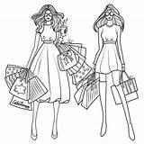 Coloring Sandbox Shopping Barbie Apps Getdrawings Printable Colorful sketch template