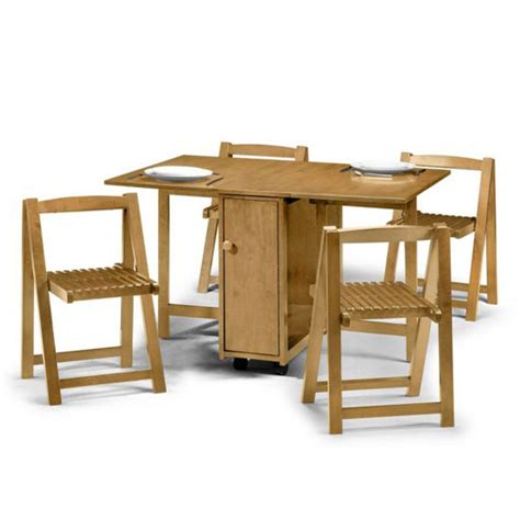 folding dining table set light oak dining table and