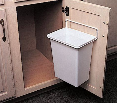kitchen cabinet trash door mounted kitchen garbage can kv kitchen bath storage 2816