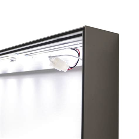 seg fabric wall mounted lightboxes display box