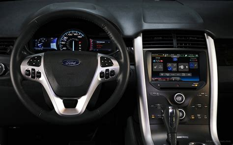 ford edge sport interior wallpaper hd car