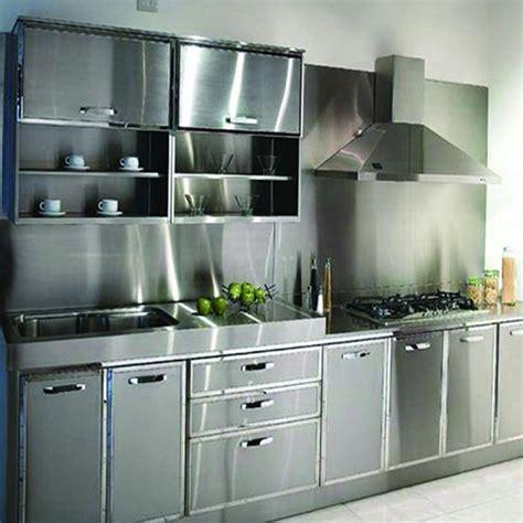 metal cabinets kitchen stainless steel kitchen cabinet स ट नल स स ट ल क चन