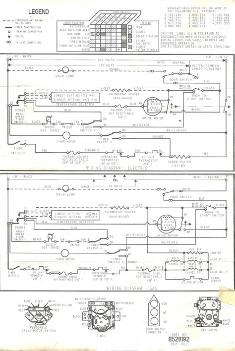 Appliance Talk Wiring Diagram For Kenmore Dryer Full