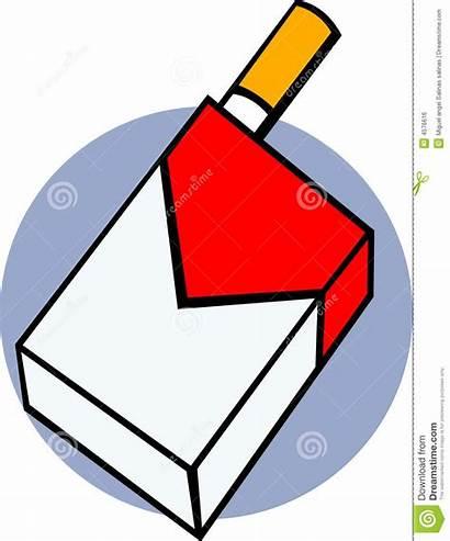Cigarette Clipart Tobacco Cigarettes Box Pack Vector
