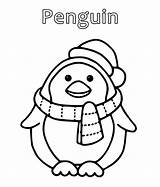 Penguin Coloring Pages Cartoon Penguins Drawing Printable Realistic Christmas Colouring Sheets Sheet Getcoloringpages Colt Getcolorings Emperor Santa Hat Getdrawings sketch template