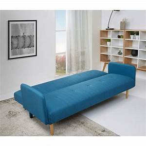 canape convertible scandinave niels bleu by drawer With tapis de sol avec drawer canape convertible