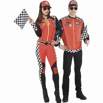 Race Driver Costumes Adult Couples Foxy Fast