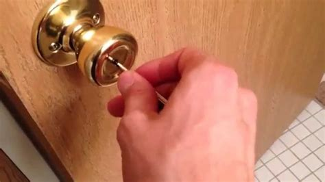 26452 how to unlock a bedroom door how to unlock a bedroom door from the outside