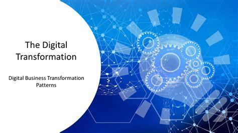 digital transformation patterns powerpoint templates