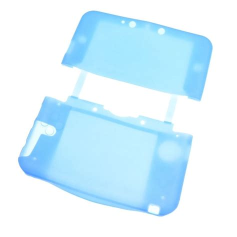 housse de protection silicone bleu nintendo new 3ds xl