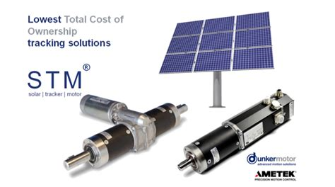 Advanced Solar Tracking Motion Solutions by Dunkermotor (a ...
