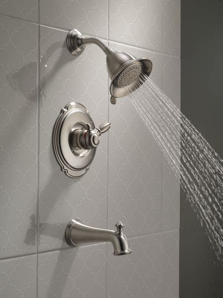 monitor  series shower trim  ss delta faucet