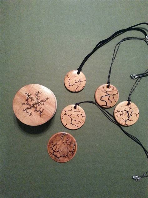 michael ball fractals wood burning art wood carving