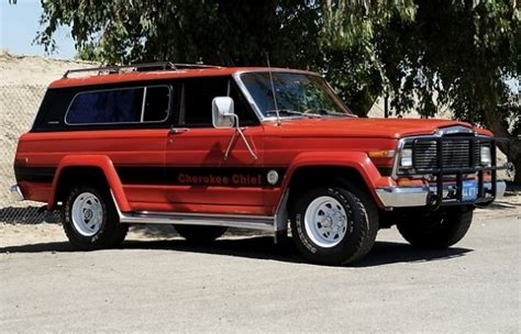 jeep chief 1979 native survivor 1979 jeep cherokee chief s bring a trailer