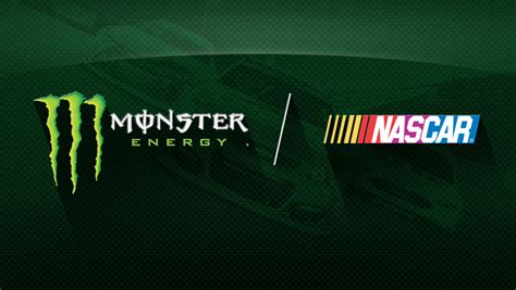 show me a monster truck nascar reveals multi year partnership with monster energy
