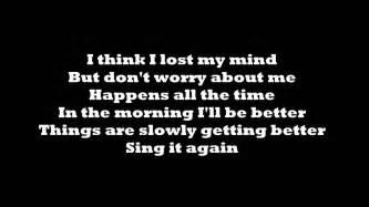 Onerepublic Better Lyrics Youtube