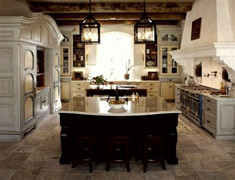 kitchen   french rustic style   build  house